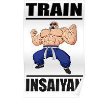 Master Roshi Train Insaiyan Poster