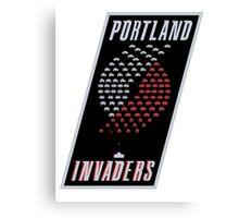 Portland Invaders Canvas Print