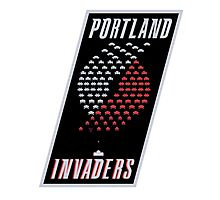 Portland Invaders Photographic Print