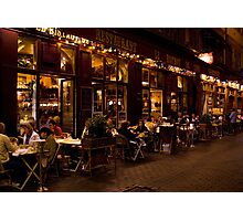Le Bistrot Photographic Print