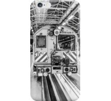Black and White Train iPhone Case/Skin