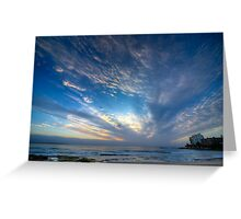 Cronulla Sky Greeting Card