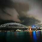 harbor bridge by sharath