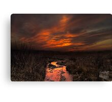 Outskirts of Mordor Canvas Print