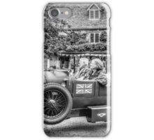Black and White Car iPhone Case/Skin