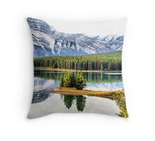 Two Jack Lake Wayside Throw Pillow