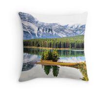 Two Jack Lake Wayside Throw Pillow