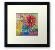 Natures Confetti by Chris Brandley Framed Print