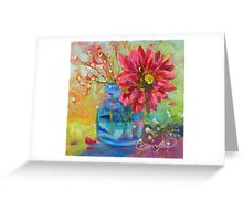 Natures Confetti by Chris Brandley Greeting Card