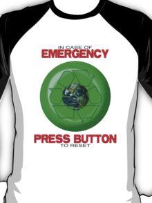 Where's The Reset Button (light shirts) T-Shirt