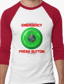 Where's The Reset Button (light shirts) Men's Baseball ¾ T-Shirt