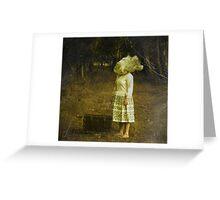 An unknown destination Greeting Card
