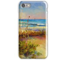 Turquoise Tide by Chris Brandley iPhone Case/Skin