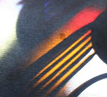 Stained glass light and shadow - 2011 by Gwenn Seemel