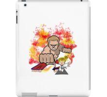 Martial Arts On Fire iPad Case/Skin