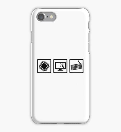 Programmer equipment iPhone Case/Skin