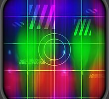 Colorful Abstract Pattern with Futuristic Sci Fi Effects. by TK0920