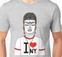 Buddha in N.Y.C  Unisex T-Shirt