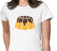 Pudding chocolate Womens Fitted T-Shirt