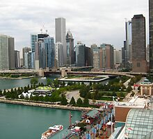 Downtown Chicago, IL by polylongboarder