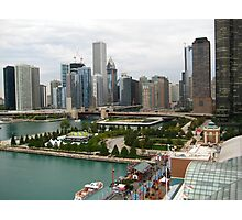 Downtown Chicago, IL Photographic Print