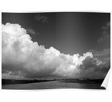 Bolsa Chica White Cloud Poster