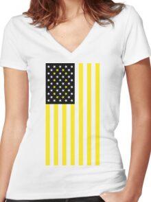 Oregon Ducks Women's Fitted V-Neck T-Shirt