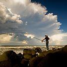 Rock Caster by Ken Wright