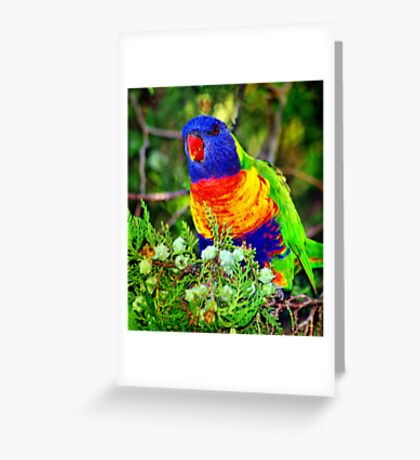 Food for Me Greeting Card