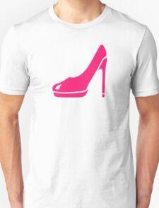 Pink pumps Unisex T-Shirt