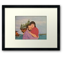 Craig an Darlene Framed Print