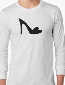 Pumps peep toe Long Sleeve T-Shirt