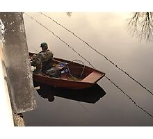 Fishing the Crappie Hole Photographic Print