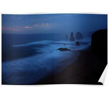The Twelve Apostles, Dusk, Great Ocean Road, Australia Poster