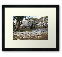Wallace Hut, Falls Creek, Australia Framed Print