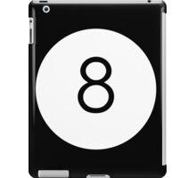 Black Ball iPad Case/Skin