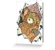 The Dalek inside Me Greeting Card