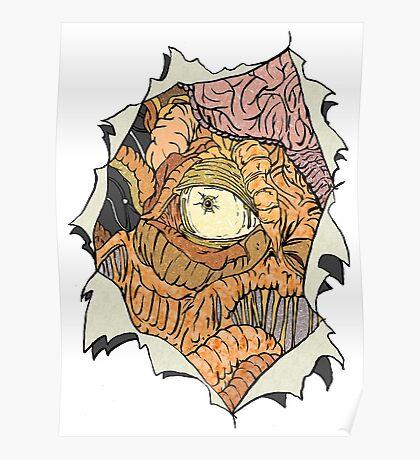 The Dalek inside Me Poster