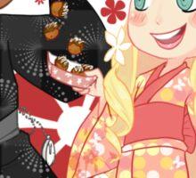 Rei & Zen - Summer Festival Sticker