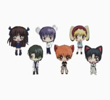Fruits Basket Chibi Anime by ppleater