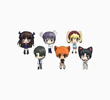 Fruits Basket Chibi Anime Unisex T-Shirt