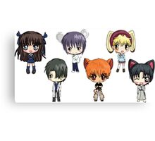 Fruits Basket Chibi Anime Canvas Print