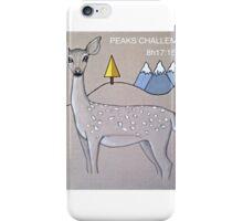 Deer three peaks iPhone Case/Skin