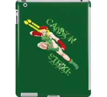 Street Fighter Cammy iPad Case/Skin