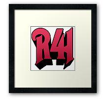 R41 Framed Print