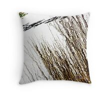 Electric Sea Throw Pillow