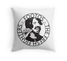 Footos - Fresh Fighters Throw Pillow