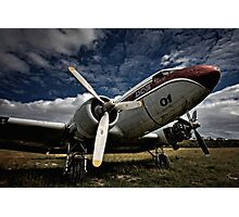 The Old DC-3 Photographic Print