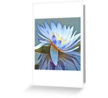 Spinning Chakra Lotus Greeting Card