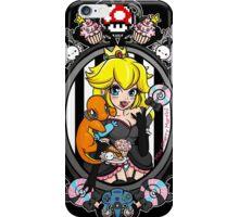 Princess Peach Goth Version iPhone Case/Skin